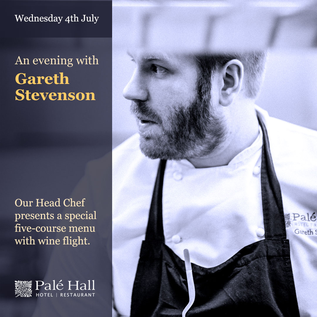 Evening with chef Gareth Stevenson