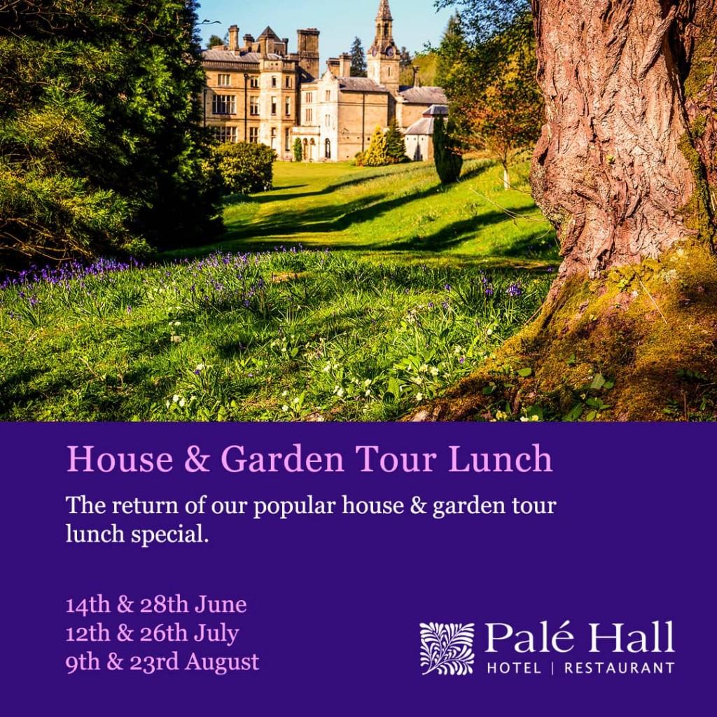 Palé Hall garden tour lunch