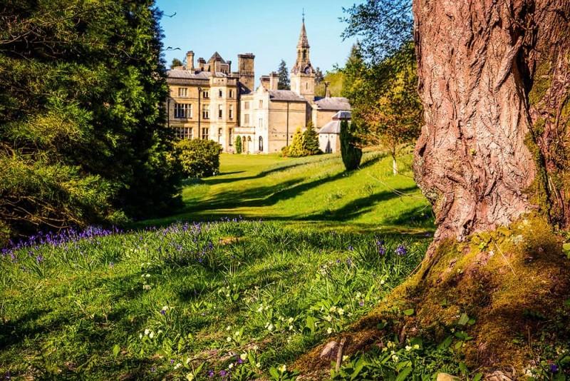 Palé Hall house & garden tours 2018